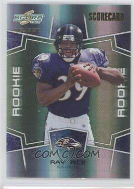 2008 Score Select Scorecard #374 - Ray Rice /100