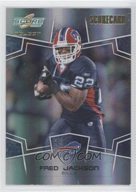 2008 Score Select Scorecard #39 - Fred Jackson /100