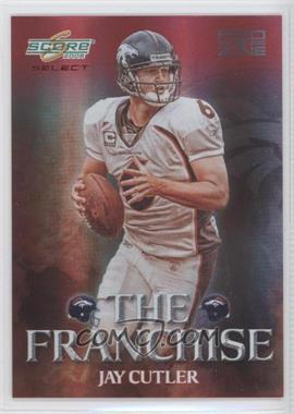2008 Score Select The Franchise Red Zone #F-11 - Jay Cutler /30