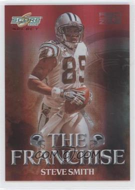 2008 Score Select The Franchise Red Zone #F-18 - Steve Smith /30
