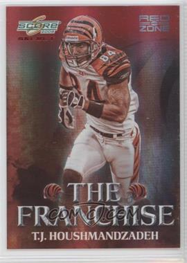 2008 Score Select The Franchise Red Zone #F-7 - T.J. Houshmandzadeh /30