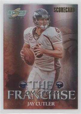 2008 Score Select The Franchise Scorecard #F-11 - Jay Cutler /100