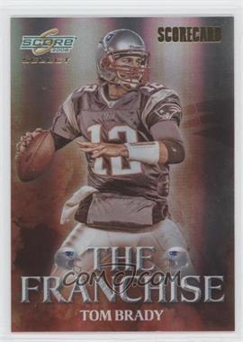 2008 Score Select The Franchise Scorecard #F-2 - Tom Brady /100