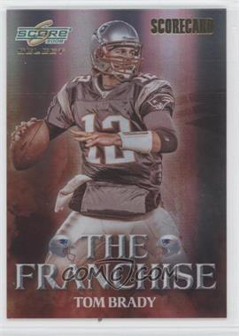 2008 Score Select The Franchise Scorecard #F-2 - Tom Brady /100