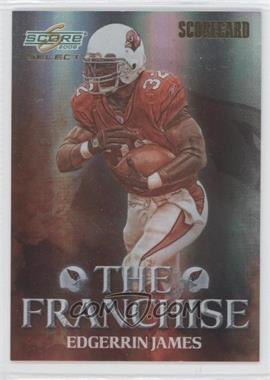 2008 Score Select The Franchise Scorecard #F-20 - Edgerrin James /100
