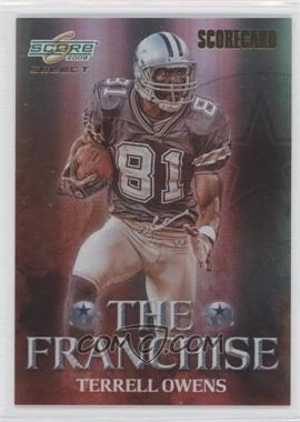 2008 Score Select The Franchise Scorecard #F-5 - Terrell Owens /100