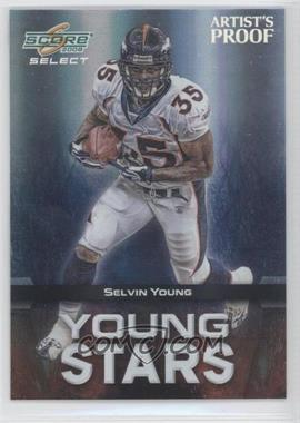 2008 Score Select Young Stars Artist's Proof #YS-12 - Selvin Young /32