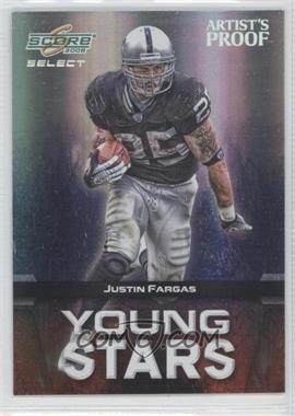 2008 Score Select Young Stars Artist's Proof #YS-16 - Justin Fargas /32
