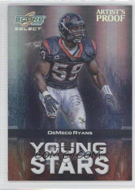 2008 Score Select Young Stars Artist's Proof #YS-18 - DeMeco Ryans /32