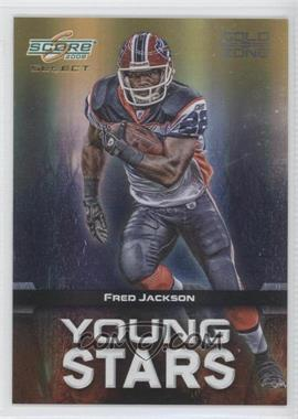 2008 Score Select Young Stars Gold Zone #YS-19 - Fred Jackson /50