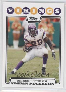 2008 Topps - [Base] #329 - Adrian Peterson