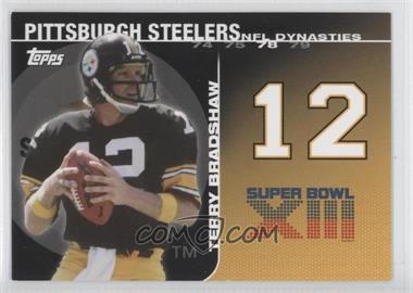 2008 Topps - NFL Dynasties Tribute #DYN-TBR - Terry Bradshaw