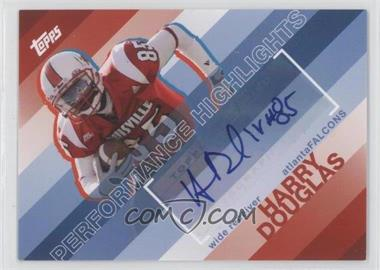 2008 Topps - Performance Highlights - Autographs [Autographed] #THA-HD - Harry Douglas