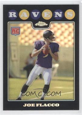 2008 Topps Chrome - [Base] - Refractor #TC170 - Joe Flacco