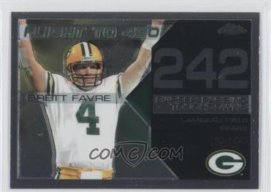 2008 Topps Chrome - Brett Favre Collection #BFC-242 - Brett Favre