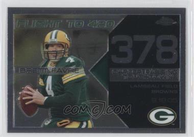 2008 Topps Chrome - Brett Favre Collection #BFC-378 - Brett Favre