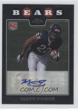 2008 Topps Chrome Rookie Certified Autographs [Autographed] #TC191 - Matt Forte