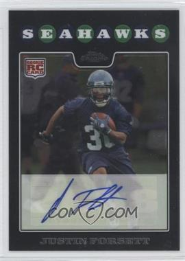 2008 Topps Chrome Rookie Certified Autographs [Autographed] #TC197 - Justin Forsett