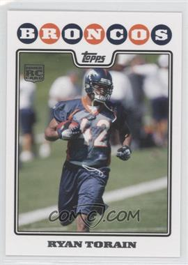 2008 Topps Factory Set Factory Exclusive Bonus Rookies H #3 - Ryan Torain