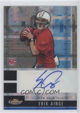 2008 Topps Finest Rookie Autographs Blue X-Fractor [Autographed] #101 - Erik Ainge /30