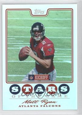 2008 Topps Kickoff - Stars of the Game #SG-MR - Matt Ryan