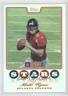 2008 Topps Kickoff Stars of the Game #SG-MR - Matt Ryan