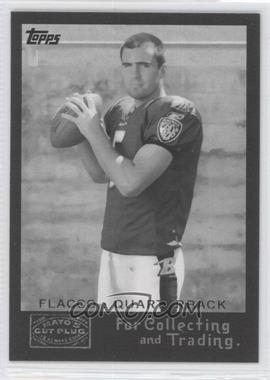 2008 Topps Mayo's Cut Plug Retro Rookies Black & White #2 - Joe Flacco