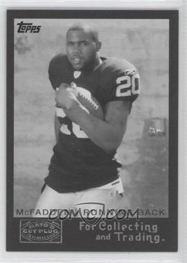 2008 Topps Mayo's Cut Plug Retro Rookies Black & White #5 - Darren McFadden