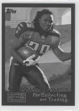 2008 Topps Mayo's Cut Plug Retro Rookies Black & White #9 - Chris Johnson