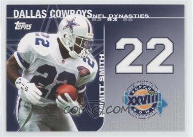 2008 Topps NFL Dynasties Tribute #DYN-ES - Emmitt Smith
