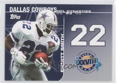 2008 Topps NFL Dynasties Tribute #DYN-ES - Emmitt Smith