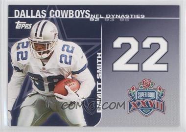 2008 Topps NFL Dynasties Tribute #DYN-ES2 - Emmitt Smith