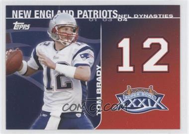 2008 Topps NFL Dynasties Tribute #DYN-TB2 - Tom Brady
