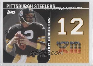 2008 Topps NFL Dynasties Tribute #DYN-TBR - Terry Bradshaw
