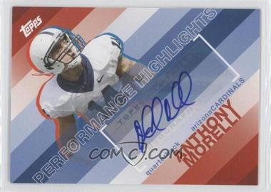 2008 Topps Performance Highlights Autographs [Autographed] #THA-AM - Anthony Morelli