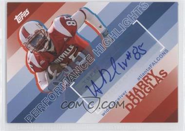 2008 Topps Performance Highlights Autographs [Autographed] #THA-HD - Harry Douglas