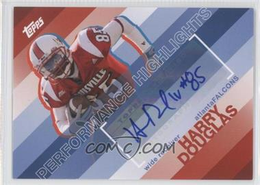 2008 Topps Performance Highlights Autographs [Autographed] #THA-HD - Harry Douglas