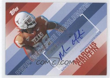 2008 Topps Performance Highlights Autographs [Autographed] #THA-MG - Marcellus Greene
