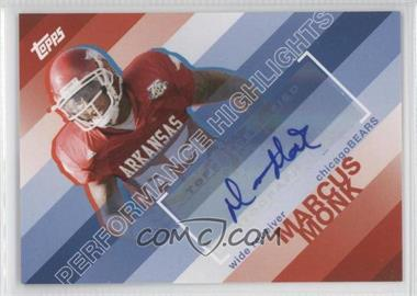 2008 Topps Performance Highlights Autographs [Autographed] #THA-MMO - [Missing]