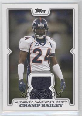2008 Topps Retail Relics #R-CB2 - Champ Bailey