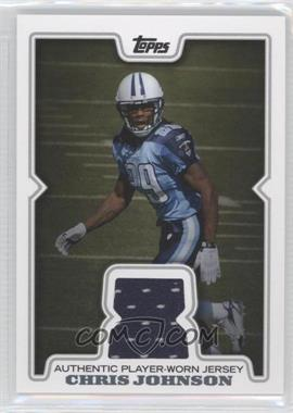 2008 Topps Retail Relics #R-CJ - Chris Johnson
