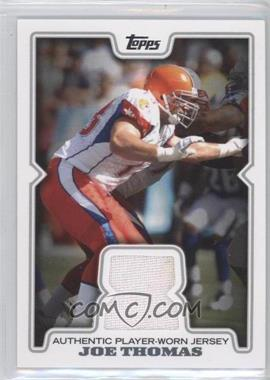 2008 Topps Retail Relics #R-JT - Joe Thomas
