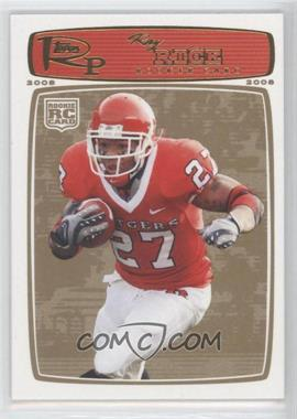 2008 Topps Rookie Progression - [Base] - Gold #200 - Ray Rice /199