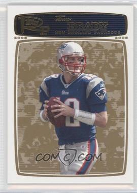 2008 Topps Rookie Progression - [Base] - Gold #3 - Tom Brady /199