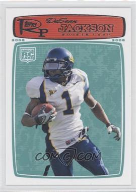 2008 Topps Rookie Progression - [Base] #178 - DeSean Jackson
