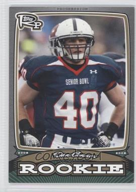 2008 Topps Rookie Progression - Rookies - Gold #PR-DC - Dan Connor /199