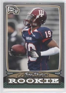 2008 Topps Rookie Progression - Rookies - Gold #PR-TP - Tracy Porter /199