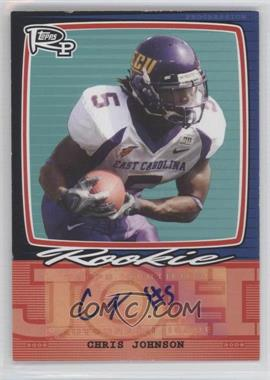 2008 Topps Rookie Progression - Single Signatures #PSS-CJ - Chris Johnson