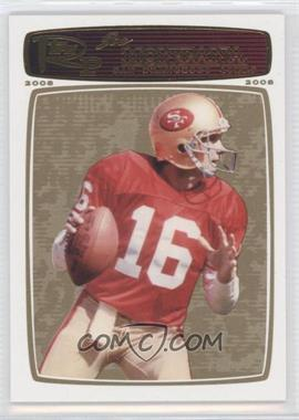 2008 Topps Rookie Progression Gold #160 - Joe Montana /199