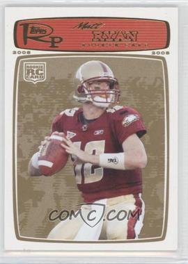 2008 Topps Rookie Progression Gold #172 - Matt Ryan /199